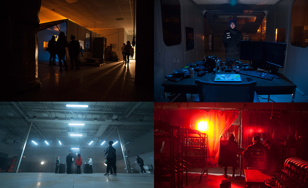 Decipher Location, Sets & Lights