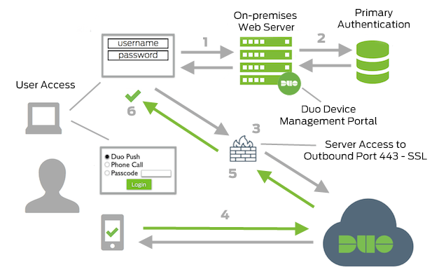 Network Diagram for Device Management Portal