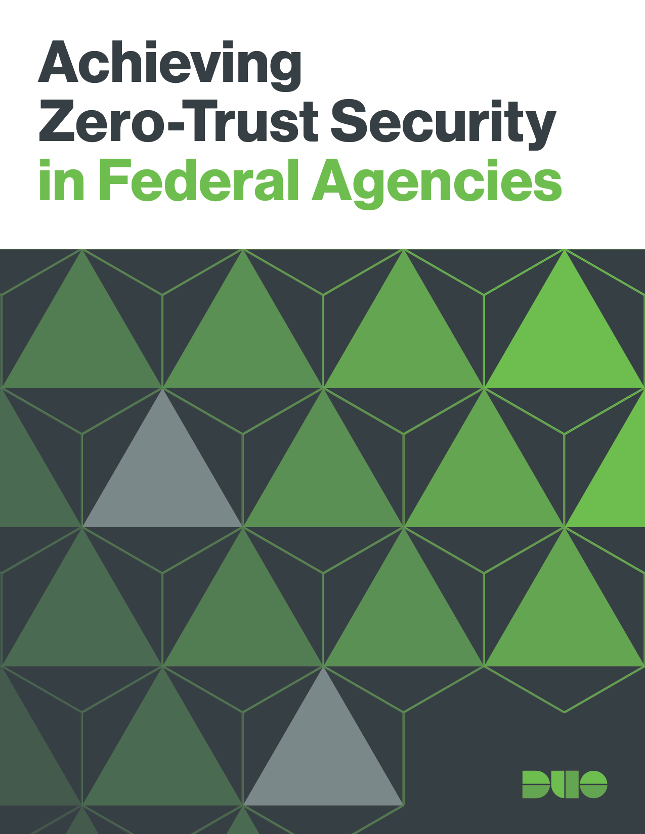 Cover of Achieving Zero-Trust Security in Federal Agencies eBook
